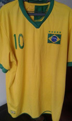 Camisola Neymar, 10, Brasil, Tamanho L