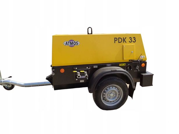 Sprężarka śrubowa kompresor ATMOS CHRAST PDK33 CE 4m3 - 7 BAR