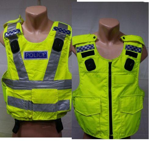 Чехол (жилет)светоотражающий сигнальный полиции Великобритании Оригин
