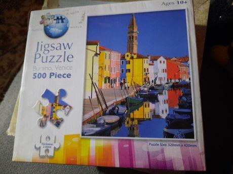 Puzzle 500 puzzle world