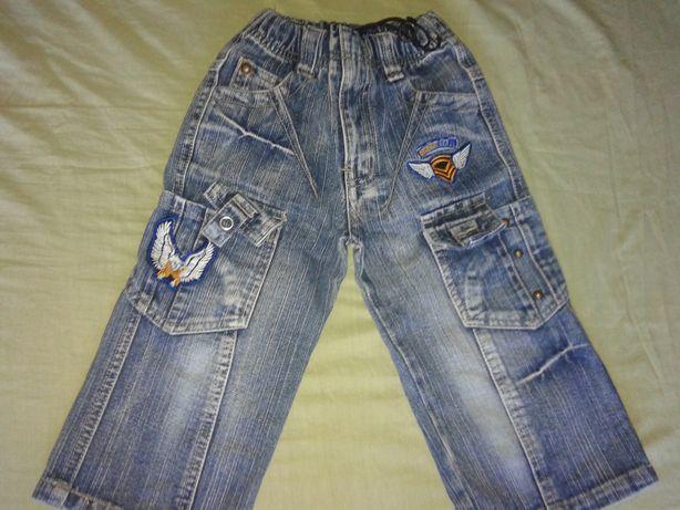 Продам джинсы на мальчика 92 рост