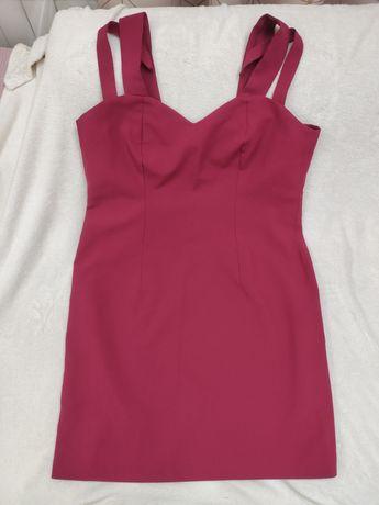 Sukienka wieczorowa kolor wiśniowy