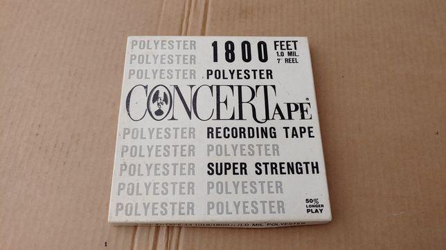 Poylester concert tape recording tasma kaseta szpulowa