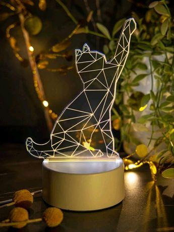 Lampka Nocna 3D nowa
