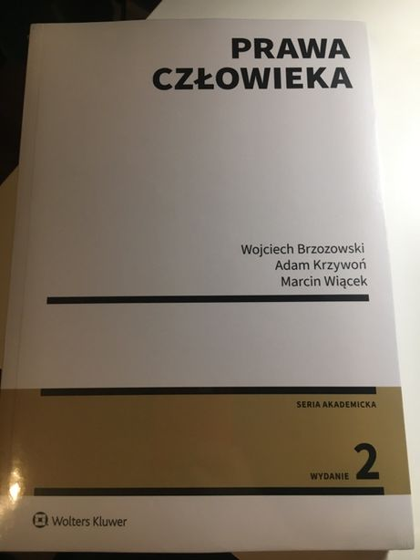 Prawa człowieka Wojciech Brzozowski Podręcznik , książka