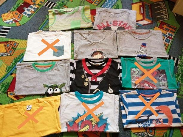Bluzki krótki rękaw t-shirt HM,Miki,Cool Club 98/104