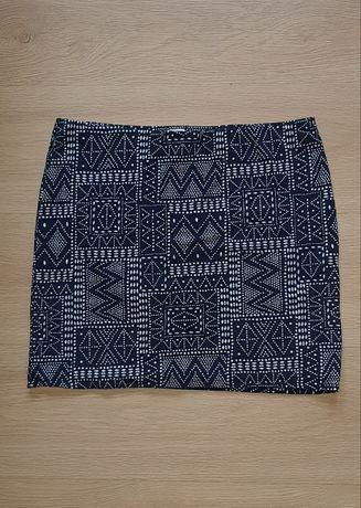 Spódnica mini we wzorki