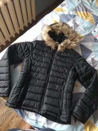 Damska kurtka jesienna przejściowa czarna Pepco rozmiar M