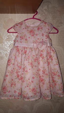 Платье george 9-12 большемерит нарядное