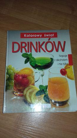 Kolorowy świat drinków - książka