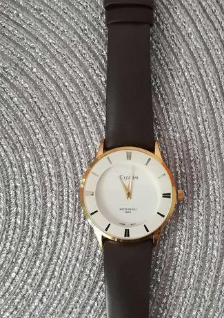 Zegarek złoty brązowy vintage