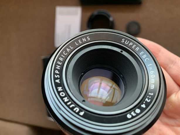 Fujifilm Fujinon Macro 60 mm f 2.4 макрообъектив fuji x