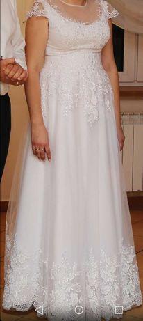 SPRZEDAM !!! Suknie ślubną