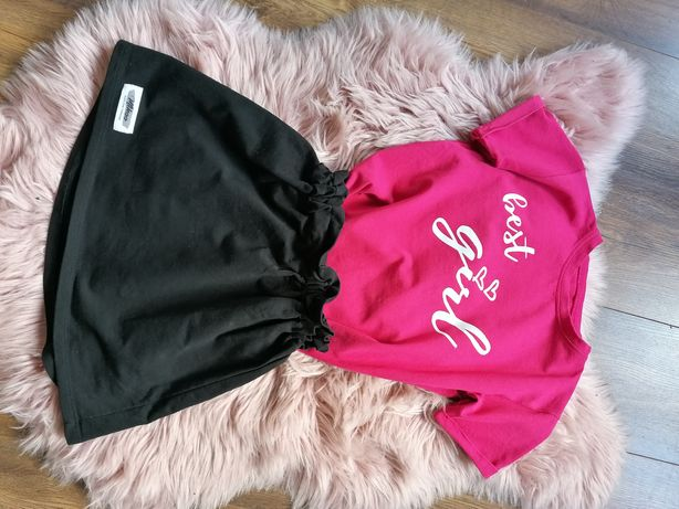Komplet, spódniczka i bluzka od Mikoo 134