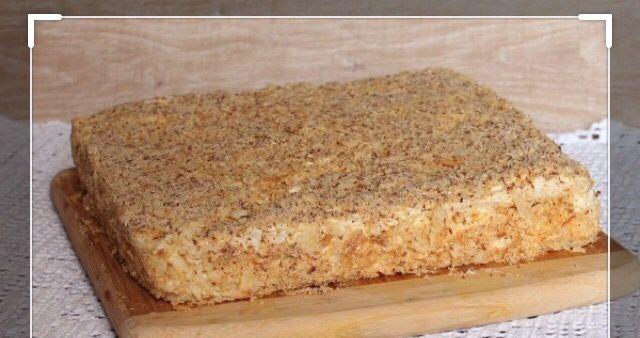 Торт домашний Наполеон классический