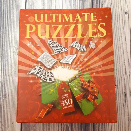 Большая книга головоломок на английском языке. Ultimate puzzles