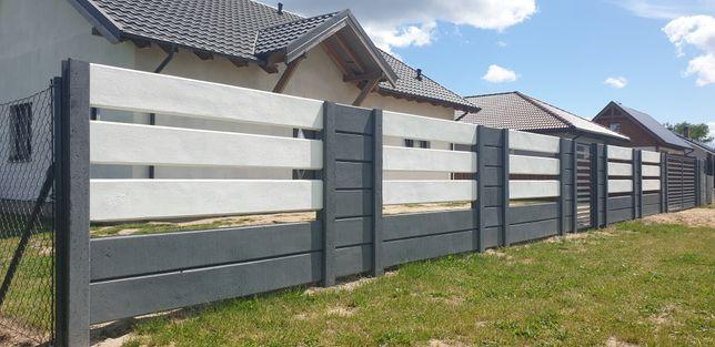 Ogrodzenia Betonowe,nowoczesne palisady,segmetowe,nie joniec bloczki