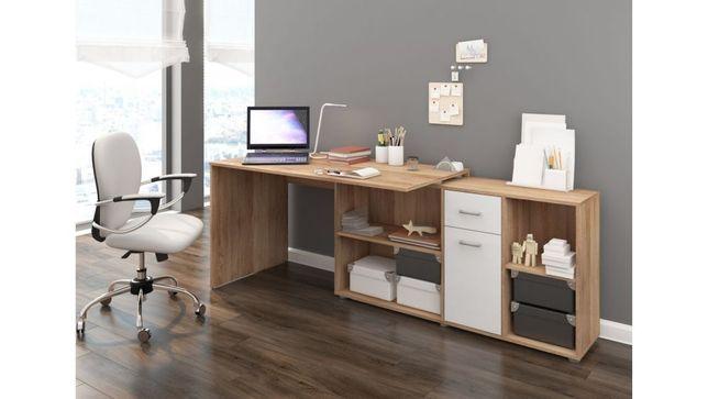 Designerskie biurko narożne SILVIA - transport bezpłatny