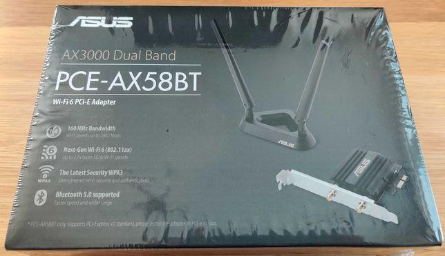 NOWA Karta sieciowa Wi-Fi Bluetooth ASUS PCE-AX58BT gwarancja