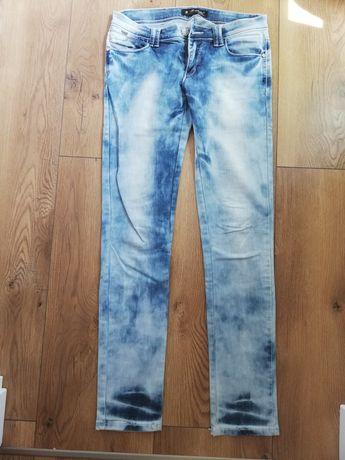spodnie jeansy L