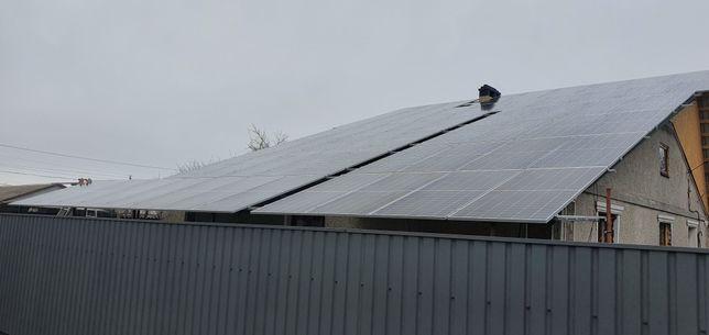 Солнечные батареи (панели) станции /Под ключ / Зелёный тариф!