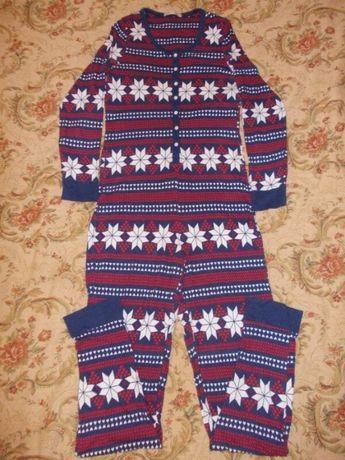 Пижама слип кигуруми комбинезон размер S