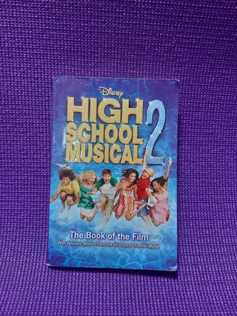 Английская книга. High school musical 2