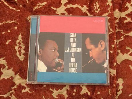 Cd Stan Getz & J. J. Johnson - At the Opera House