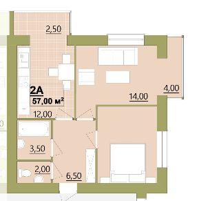 2 кім в ЦЕНТРІ(готель Надія) за 23 500 дол!!