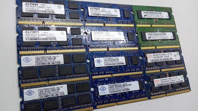 Оперативная память для ноутбука SoDIMM DDR3 2Gb PC3 ДДР3 2ГБ