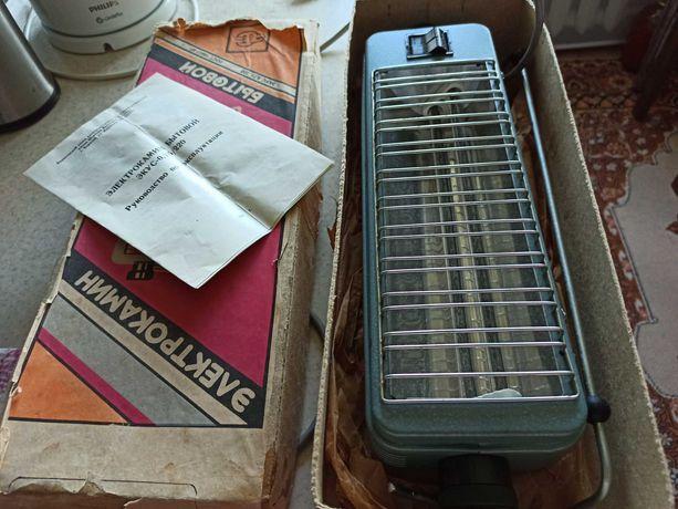 Продам  новый электрокамин бытовой пр- ва СССР.