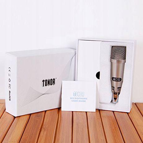 Tonor Mikrofon pojemnościowy z interfejsem USB