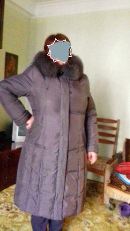 Пальто пуховик 54-56