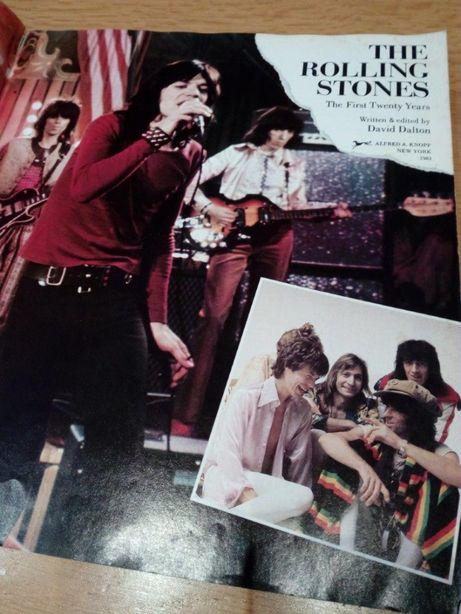Rolling Stones - dois livros raros 1947a 1981