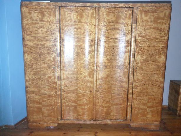 Szafa 3 drzwiowa drewniana ANTYK stare meble PRL