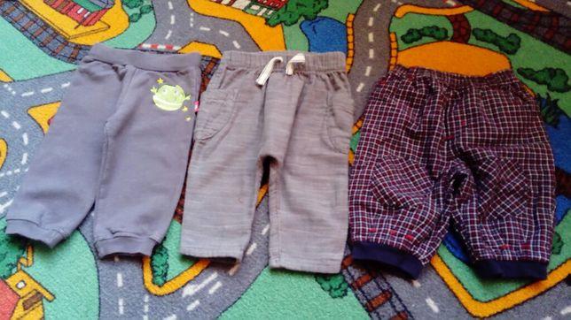Spodnie markowe 3 szt. GEORGE, HM 68 jak nowe