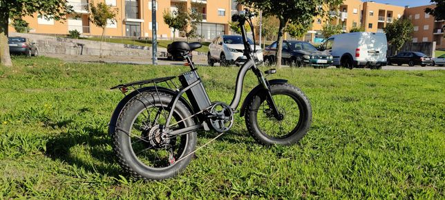 FAT BIKE - Bicicleta Eléctrica 1000w - NOVA