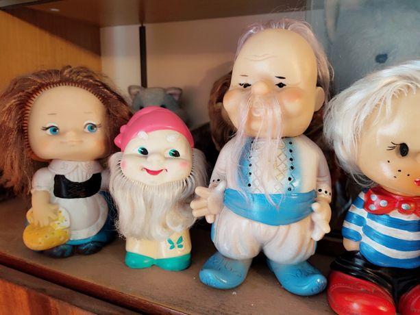 Советские резиновые игрушки СССР сувенир