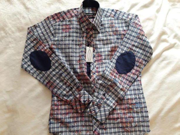 Новая рубашка companeros с интересным принтом р. м