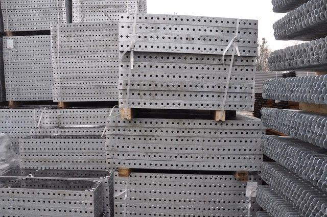 Szalunek szalunki ścienne 50,40 m2 typ TEKKO