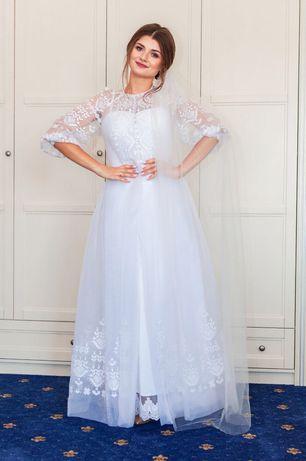 Сукня весільна від Оксани Полонець!