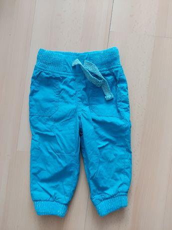 Ciepłe spodnie rozmiar 80