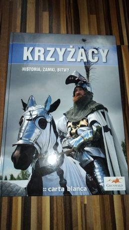 Krzyżacy Historia, zamki bitwy twarda okładka