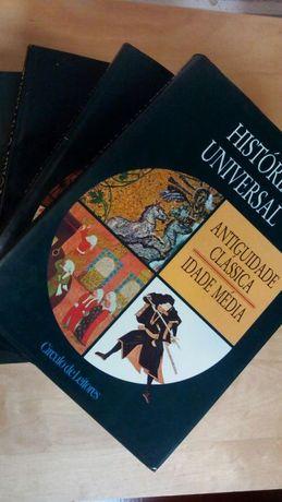 Colecção Historia Universal 3 Livros Como Novos! Círculo de leitores,