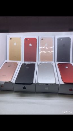 IPhone 7 Новые 32/128 black, silver, rose, gold. Neverlock 6