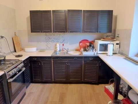 Meble kuchenne fronty drewniane - szafki w sumie 12 szt