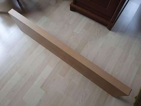 Półka ścienna, 110cmx26cm, grubość 5cm