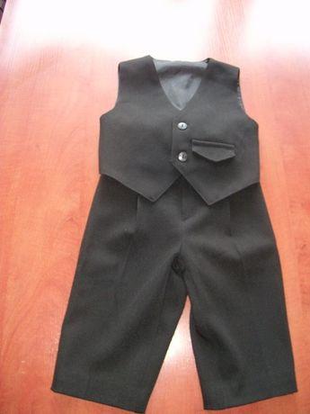 Garniturek - spodnie + kamizelka rozm. 86