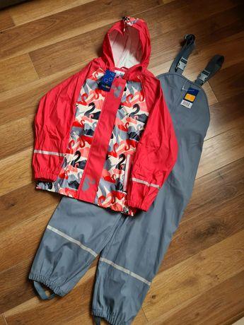 Lupilu комплект грязепруф  куртка и полукомбинезон 122/128 р дождевик