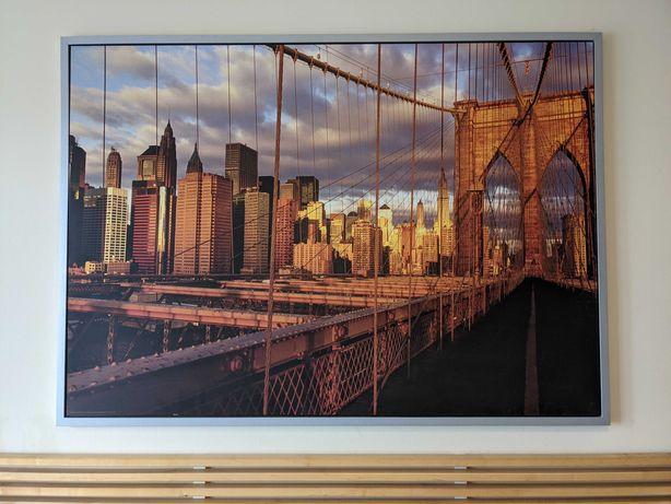 Obraz Ikea Nowy Jork - jak nowy